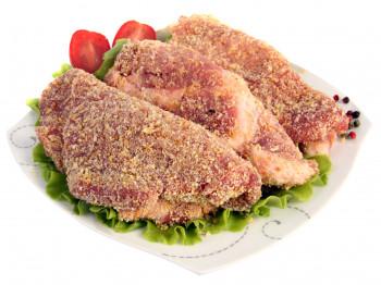 Côte de porc panée