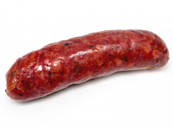 Grosse saucisse nature